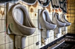 Toiletten mit Dampfreiniger säubern